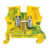 LEGRAND Terminal Block G/Y Metal 1 Connector 6mm² [37172] - Modular Enclosure